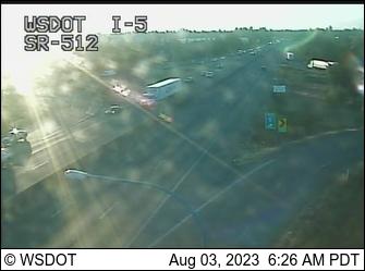I-5 at MP 127.5: SB/SR 512 Interchange