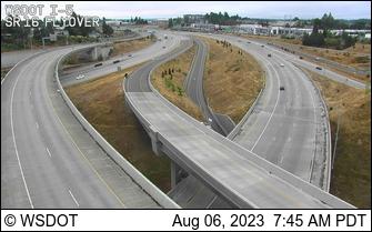 I-5 SB: SR 16 Interchange