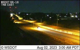 Tacoma Narrows Bridge, Eastside