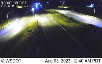 WSDOT - SR 167 at MP 7: SR 410 Interchange - Tacoma Washington Cameras