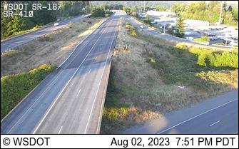 SR 167 at MP 7: SR 410 Interchange