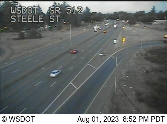 SR 512 at MP 0.6: Steele St