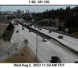 WSDOT - I-90 at MP 297 4: US 195 Interchange - Spokane