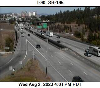 I-90 at MP 297.4: US 195 Interchange