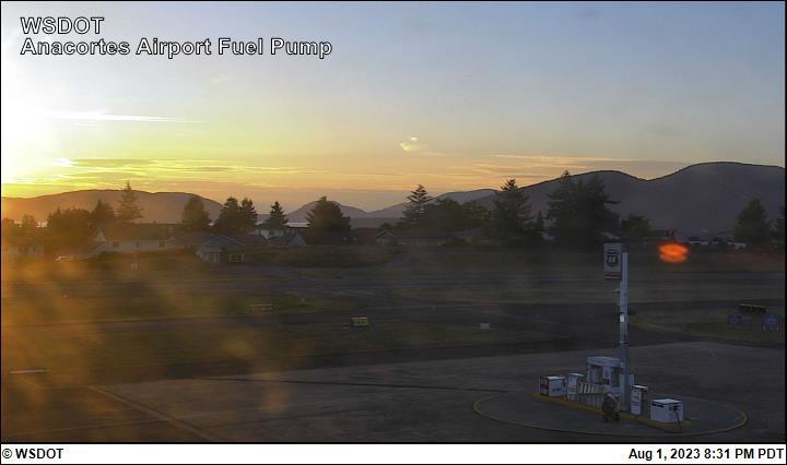 Anacortes Airport Fuel Pump