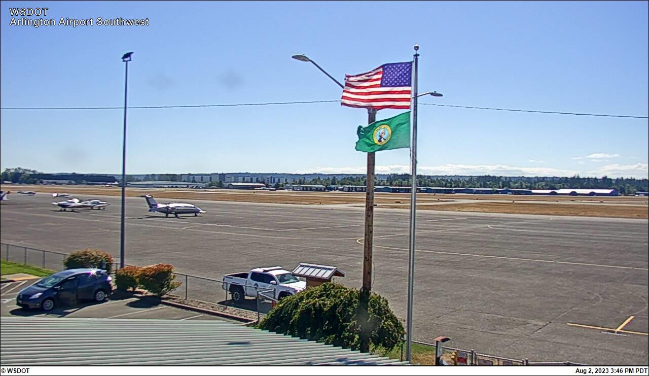 Arlington Municipal Airport Sothwest