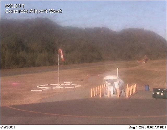 Concrete Airport West View Web Cam