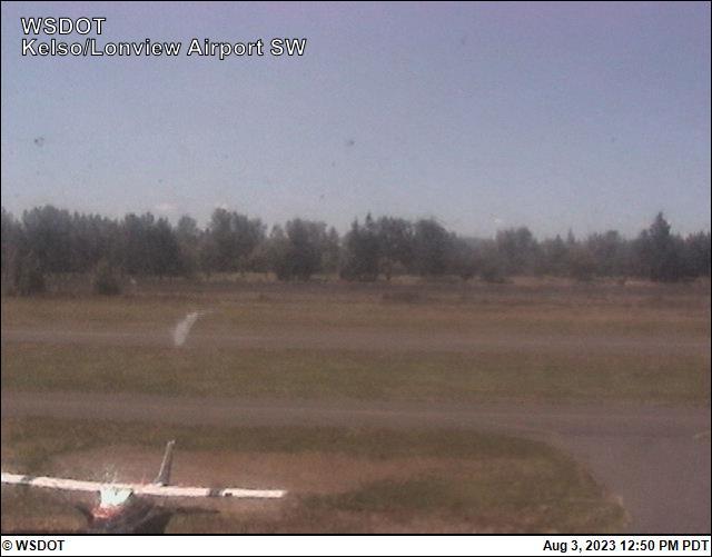 Kelso-Longview Regional  Airport Southwest View