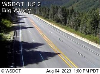 US 2 at MP 63: Big Windy