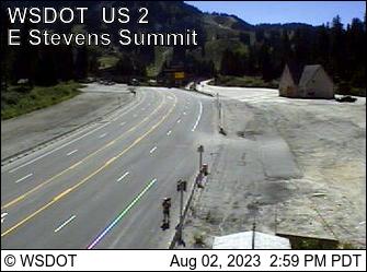 US 2 MP 64.8 East Stevens Pass Summit