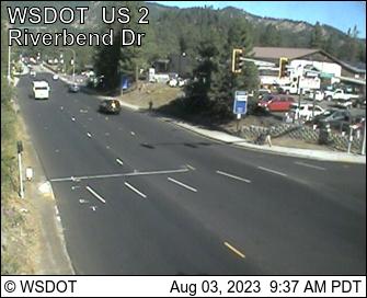 US 2 at MP 100.6: E. Leavenworth