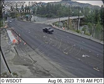 US 2 at MP 103.7: Peshastin
