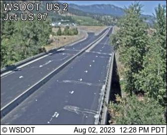 US 2 at MP 104.8: Don Senn Memorial Interchange