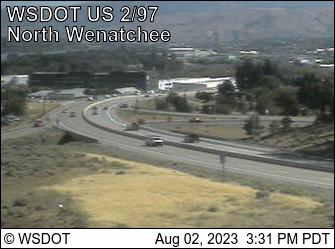 US 2 at MP 118.7: US 97 Interchange (View South)