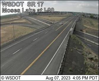 SR 17 MP 50.8 Moses Lake at I-90