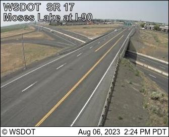 SR 17 at MP 50.8: Moses Lake at I-90
