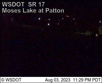SR 17 at MP 56.6: Moses Lake at Patton Blvd