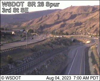 SR 28 Spur at MP 0.78