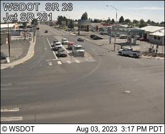 SR 28 Junction SR 281 MP 29.77