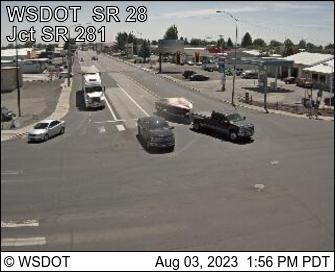 SR 28 Junction SR 281 at MP 29.77