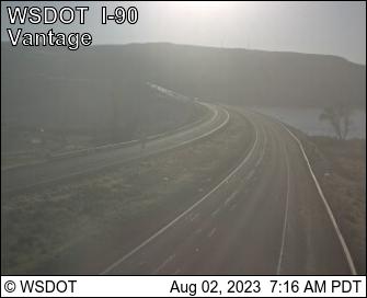 I-90 at MP 136.5: Vantage