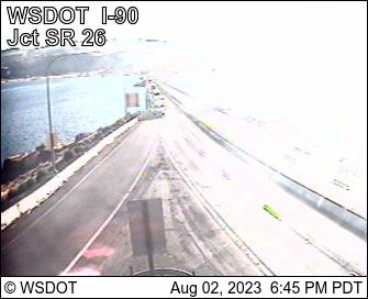 I-90 MP 138 Vantage Br. (View West)