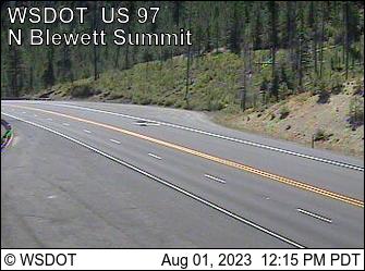 US 97 at MP 163.8: Blewett Pass Summit