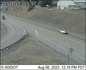 US 97 MP 185 Don Senn Memorial Interchange