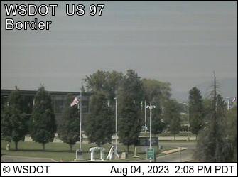 US 97 at MP 336.4: (View North)