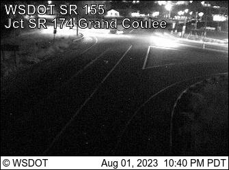 SR 155 at MP 25.7: SR 174 Grand Coulee