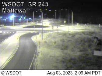 SR 243 at MP 13.8: Road 24 SW