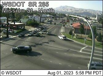 SR 285 at MP 0.7: Wenatchee