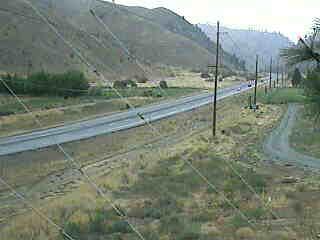 US 97A at MP 226: (View North)