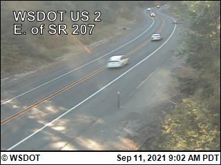 WSDOT - US 2 at MP 87: Winton - Central Washington Cameras
