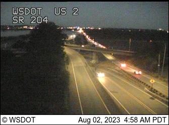 US 2 at MP 2.4:  SR 204 Interchange