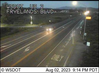 US 2 at MP 12.9: Fryelands Blvd / Roosevelt Rd SE