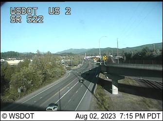 US 2 at MP 14.3: SR 522 Interchange