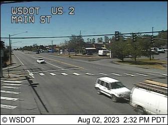 US 2 at MP 15.2: Main St
