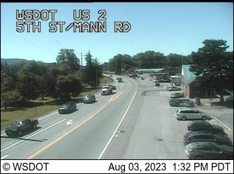US 2 at MP 22.3: 5th St