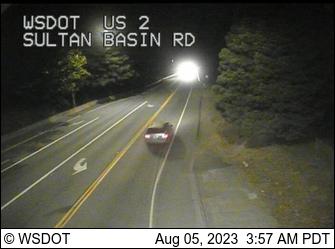 US 2 at MP 23.2: Sultan Basin Rd
