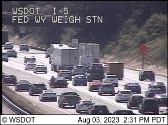 WSDOT - I-5 at MP 140.6: Weigh Station - Tacoma Washington ... on
