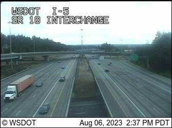 I-5 / SR 18 Interchange