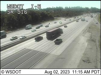 I-5 at MP 149.1: SR 516 Interchange