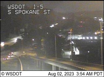 I-5 at MP 162.9: Spokane St