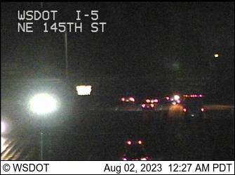 WSDOT - I-5 at MP 174 6: NE 145th St - Washington State Traffic Cameras