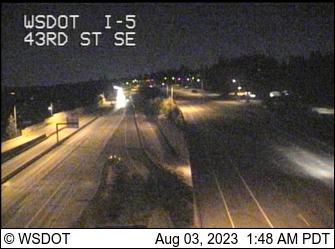 I-5 at MP 192.3: 43rd St SE
