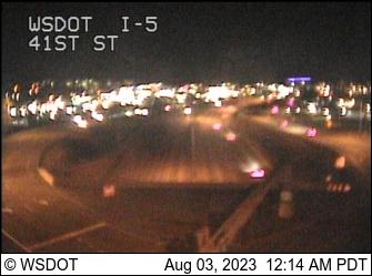 I-5 at MP 192.6: 41st St