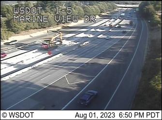 I-5 at MP 194.6: Marine View Dr