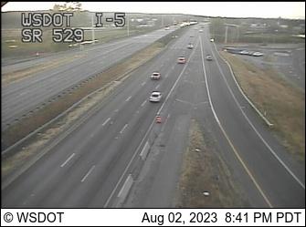 I-5 at MP 198.4: SR 529 Interchange