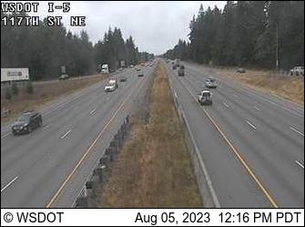 I-5 at MP 202.5: 117th St NE
